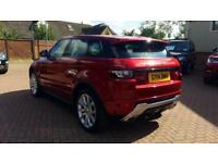 2014 Land Rover Range Rover Evoque 2.2 SD4 Dynamic Lux 5dr (9) Automatic Diesel