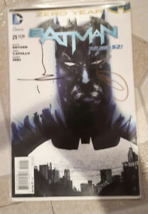 Batman issue #21 1:25 Jock Variant Duke Thomas DC Comics- Signed