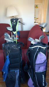 Men and women's Golf clubs