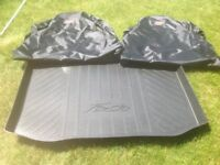 Fiesta boot liner and Fiesta ST seat covers for sale