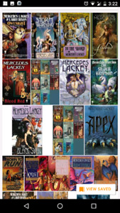 Mercedes Lackey collection