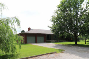 Farm with Large Bungalow on 44 Acres