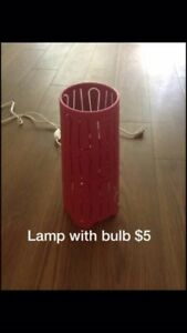 Pink Desk Lamp NEED GONE ASAP!!!