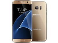 Samsung Galaxy S7 Edge 32gb gold, comes with gold cover Vodafone