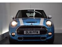MINI HATCH COOPER 2.0 COOPER S 5d 189 BHP (blue) 2016