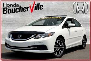 2014 Honda Civic EX traitement anti-rouille   jamais accidenté