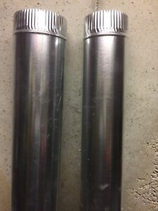 New Round Metal Duct Pipes