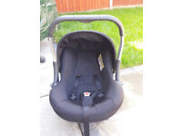 baby silver cross car seat with all accessories