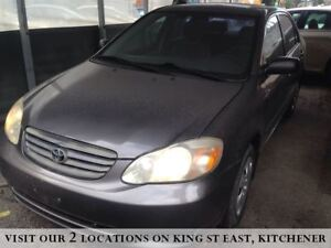 2003 Toyota Corolla CE | YOU CERTIFY, YOU SAVE