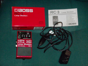 Boss RC-3 Loop Station (like New)