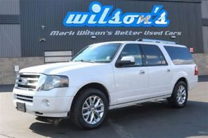 2012 Ford Expedition Max LIMITED 4WD! 8-PASS! LEATHER! NAV! SUNR