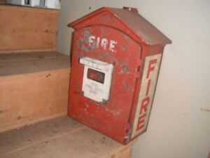 Gamewell Fire Box
