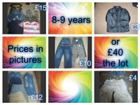 boys clothes 8-9 years prices in pictures smoke and pet free home collection from didcot