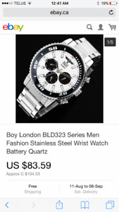Boy London watch