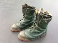 Chainsaw Boots - Oregon, size 10.