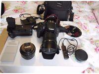 Canon EOS 700D 18.0MP Digital SLR (Canon EF-S 18-135mm + Canon EF 50mm + Extras)