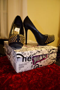Brand New High Heels black with tags