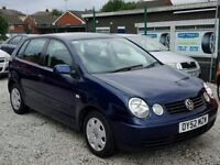 52 VW POLO 1.9 DIESEL SDI 5 DOOR- MINT CONDITION- PX WELCOME