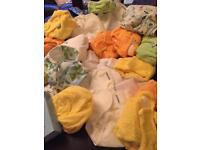 Reduced ****REUSEABLE nappies NEW. TOTBOTS