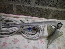 4.5 kg plastimo cqr type anchor