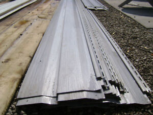 vinyl siding grey and white IDEAL FOR SHED OR CABIN OR DOLLHOUSE