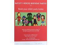 Hayley's Heroes Birthday Parties