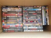 JOB LOT OF OVER 100 DVDS £40 ono