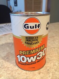 OIL GULF COLLECTABLE