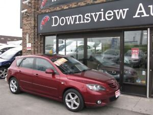 2006 Mazda MAZDA3 SPORT AUTO!LOADED!FULLY CERTIFIED!HATCH!ROOF!L