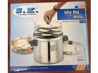 Idli Maker or Cooker or Steamer - 4 plates - 16 Idlys - Occasionally Used & in a very good condition