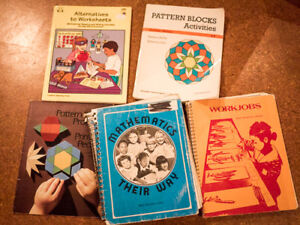 Primary TEACHER Math books including the ICONIC Math Their Way