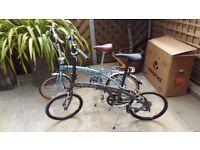 Fold up retro bikes