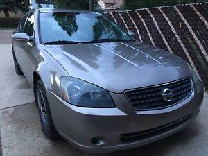 2005 Nissan Altima 2.5L For Sale.