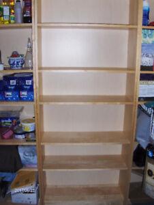 Shelving units / book cabinets