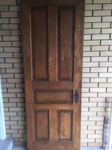 Turn of the Century Door
