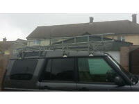 Land Rover Galvanised Full Roof Rack (Brown church?) Expedition