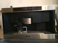 Miele built in coffee machine