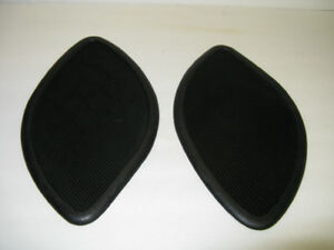 PAIR RUBBER MOTORCYCLE TANK GUARDS ~ UNUSED