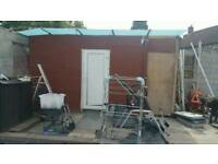 Shed or lean to conservatory