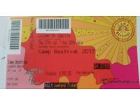 Camp Bestival - Adult weekend and camping ticket