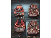 leather bags & belts