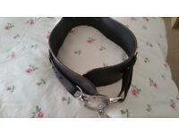Karen millen leather belt size 2 (10-12)