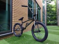 Custom bmx with free-coaster