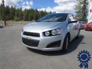 2015 Chevrolet Sonic LT Front Wheel Drive - 48,872 KMs, Seats 5