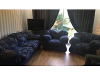 Three Piece Sofa Set only £90