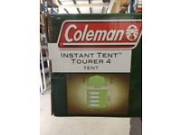 COLEMAN INSTANT TENT TOURE 4