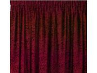 Velvet Jacquard Fully Lined Curtains