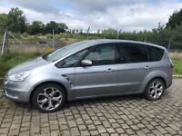 Ford S Max 2.5T st 18 wheels Leather 7 seats