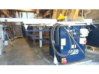 USED/SEDGWICK TA315 Saw Bench 240volt/single phase