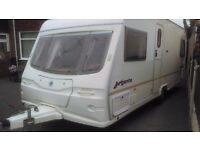 2005 avondale argente 555-4 4 berth with fixed bed